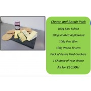 Cheese and Biscuit Pack